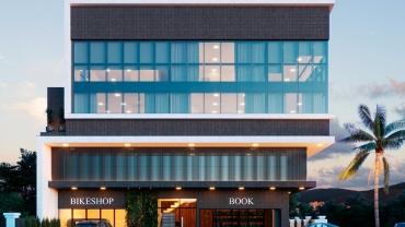 COD VCO001 – Edifício comercial com salas disponíveis para venda